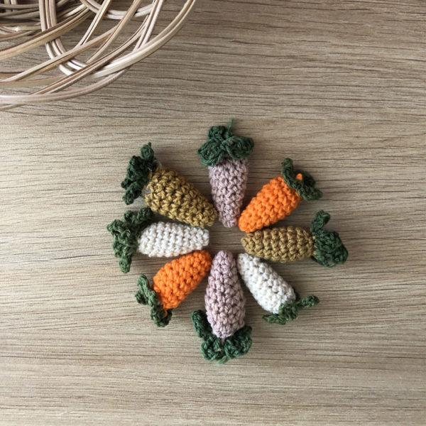 couleur carotte pour personnalisation du doudou croq'carotte